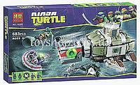 Арт.10265 Конструктор Bela Черепашки Ниндзя (Ninja Turtles) Преследование на подводной лодке черепашек