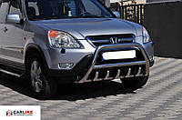 Кенгурятник Honda CRV 2001-2006 (WT003 нерж)