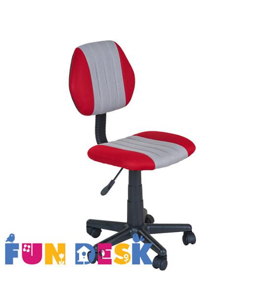 Детское  кресло FunDesk LST4 Red - Grey