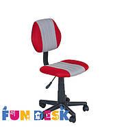 Детское  кресло FunDesk LST4 Red - Grey, фото 1