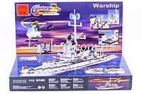Арт.112 Конструктор Brick Военный корабль