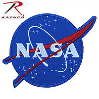Патч нашивка  NASA Meatball Logo  (Rotcho)  USA