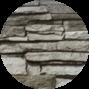 Гладкий лист декор натуральный камень 0,4 мм