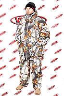 Зимний костюм для охоты и рыбалки белый клен