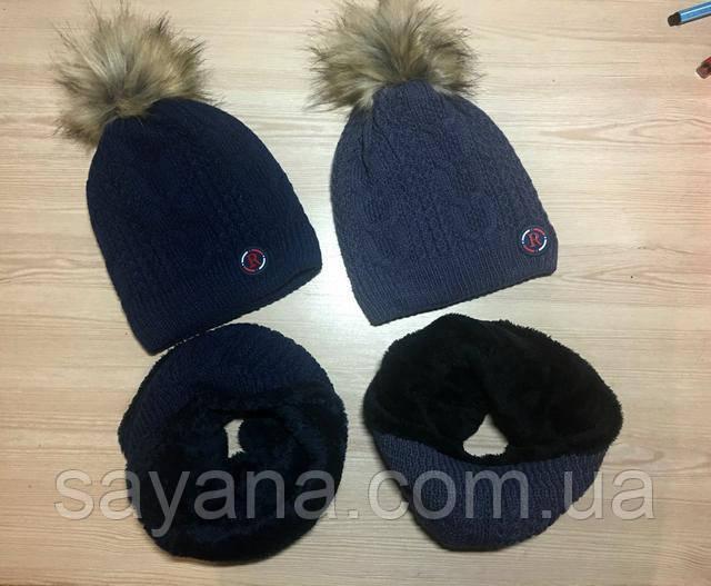 Мега-стильная шапка детская