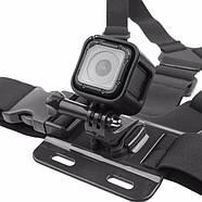 Крепление на грудь Chest Mount Harness для GoPro, Xiaomi, SJCAM + крепление-защелка J-Hook, фото 3