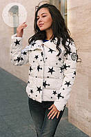 Куртка звезды на синтепоне  арт 2560-503