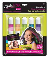 Краска-мел для волос Wooky 5 мелков (21618_1616)