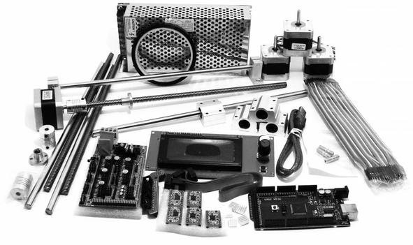 Комплектующие для 3D принтера, станков с ЧПУ, ABS и PLA пластик