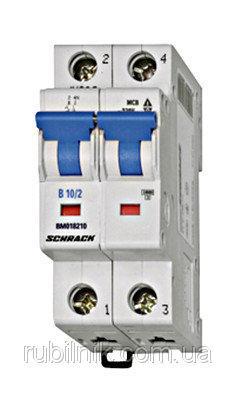 Автоматический выключатель BM 6кА 2P 2А х-ка C 40 ° С Schrack