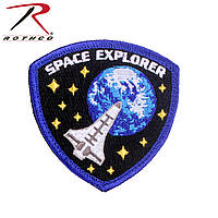 Патч нашивка Velcro Color Patch Space Explorer  (Rotcho) USA