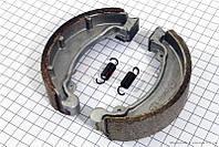 Гальмівні колодки задні або передні (спиць. колесо) d121mm на мотоцикл VIPER -125-J