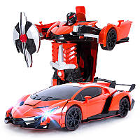 Р/У Машина-трансформер (orange, red)