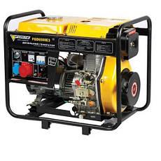 Дизельный генератор FORTE FGD6500E (5,5 кВт), фото 3