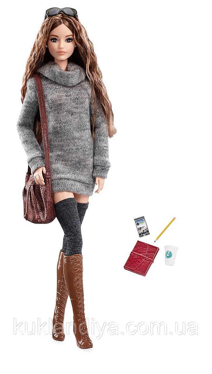 Колекційна лялька Barbie The Look Sweater Dress