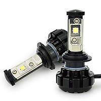 Автолампа LED H7 V18 Turbo, 60W, 7600LM, 6000K, 12-24V (пара), фото 1