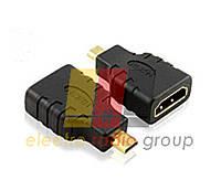 Переходник microHDMI(папа)-HDMI(мама) NEW