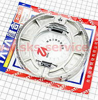 Тормозные колодки задние (литое колесо) d125мм на мотоцикл VIPER -125-J