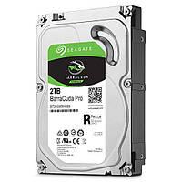 Жесткий диск для компьютера 2Tb Seagate BarraCuda Pro, SATA3, 128Mb, 7200 rpm (ST2000DM009)