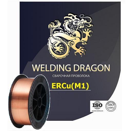 Проволока Welding Dragon ErCu 1.0 мм 5 кг (D200)