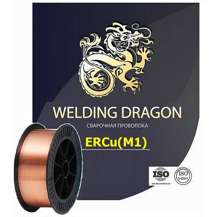 Проволока Welding Dragon ErCu 1.0 мм 5 кг (D200) , фото 2