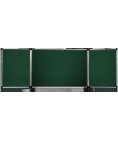 Школьные доски трёхсекционные