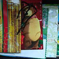 Подарочный пакет детский формата А4 35х25