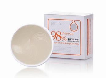 Гідрогелеві патчі для очей з колагеном і коензимом Petitfee Collagen & Co Q10 Hydrogel Eye Patch
