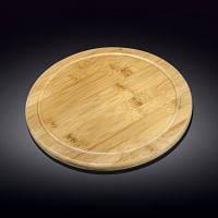 Блюдо Wilmax Bamboo кругле сервіровочне 30,5см