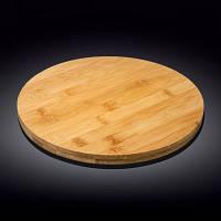 Блюдо Wilmax Bamboo кругле поворотне 35,5х4см