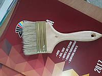 Кисть флейцевая деревянная