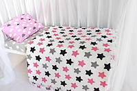 Постельный комплект в детскую кроватку хорошее настроение