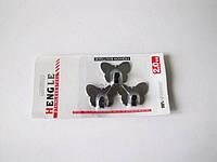 Крючки металл в наборе из 3-х  Бабочка  на планшете VT6-19327(240шт)