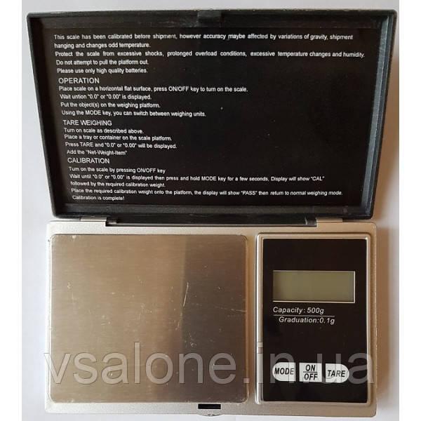 Портативні електронні ваги Digital scale Professional-mini CS-500