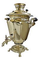 Коллекционный, редкий самовар Баташева на 8 литров в идеальном состоянии (Гарантия 1 год)