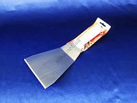 Шпатель нерж+пластм с белой ручкой 29*12см VT6-19334(144шт)