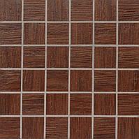Мозаика Zeus Ceramica mosaico Moodwood Wenge Teak 300*300 MQCXP8