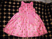 Детское платье в горох НМ на рост 98см