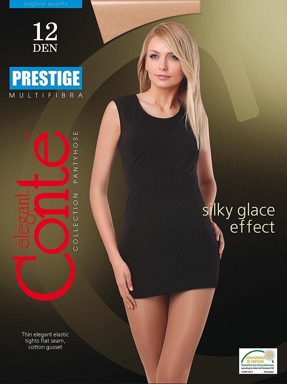 Колготки женские классические Conte Prestige 12 ден