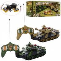 Набор игровой танк 2шт р/у, аккум,звук,свет,подвиж.корпус