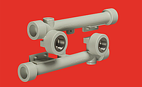Настенный комплект (двойное настенное колено) 2х20х1/2 FV-PLAST