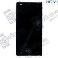 Дисплей (модуль экран + тачскрин) Nomi i506 Shine Black