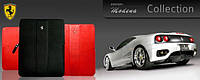 Чехол для iPad 2/3/4 - Ferrari Modena leather sleeve with zipper