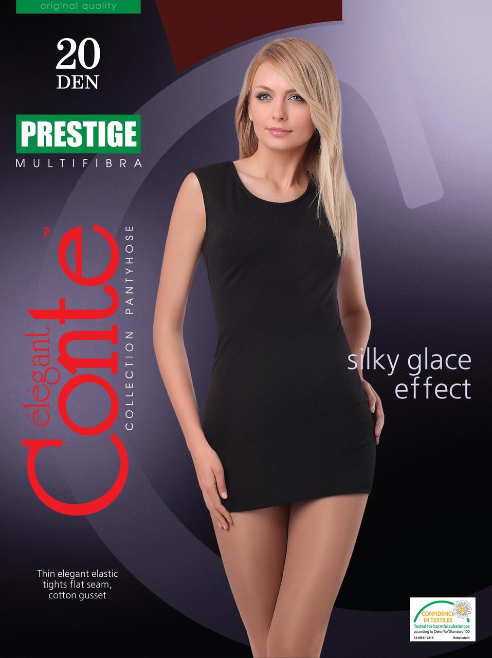 Колготки женские классические Conte Prestige 20 ден