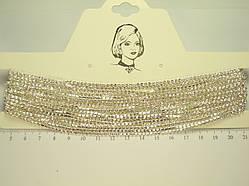 """Ожерелье СВД """"Мелкие Стразы"""" длина 28-40 см"""