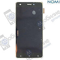 Дисплей (модуль экран + тачскрин) Nomi i5011 EVO M1 Black