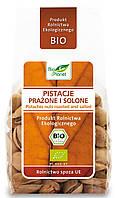 Органические фисташки жареные из солью, Bio Planet, 100 гр