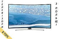Телевизор SAMSUNG UE49KU6172 Изогнутый 4K 1400Hz T2 S2 из Польши