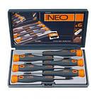 Набор отверток NEO Tools, 6в1