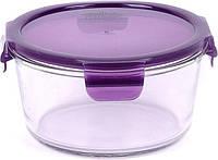 Емкость Peterhof  для продуктов 0,875л с крыш. фиолет.